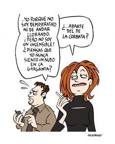 ¡Pero no soy un insensible! - Maitena www.sinembargo.mx