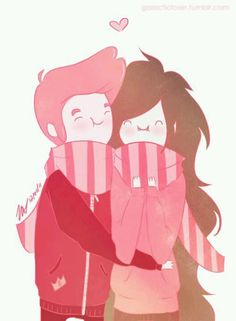 Gumball and Marceline (CUTE!!!)