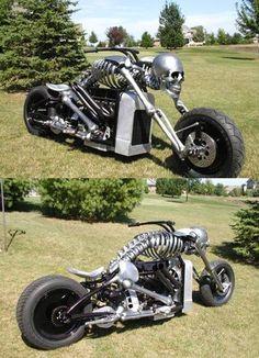 Bones motorcycle