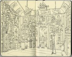 Daily illustrations, sketches and drawings from Mattias Adolfsson