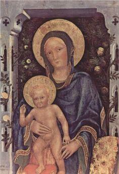 Madonna and Child - Gentile da Fabriano