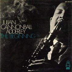 """Julian Edwin """"Cannonball"""" Adderley (15 Sept, 1928 – 8 Aug, 1975) Jazz Alto Saxophonist of Hard Bop era of 1950s & 60s. Remembered for 1966 single """"Mercy Mercy Mercy"""", crossover hit on pop charts, & his work w/ Trumpeter Miles Davis, including on Epochal Album Kind of Blue (1959). Brother of jazz Cornetist Nat Adderley, longtime member of his band.  via Wikipedia http://indigodreams.tumblr.com/page/276"""