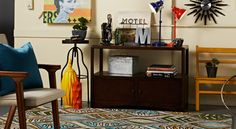 I love this Urban Funk-inspired room! Take the quick HomeGoods Stylescope quiz to find out your home design personality. #HGStylescope