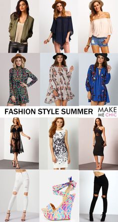 Put on the eye catching dress and have a nice day! Choose your style on MakeMeChic.com