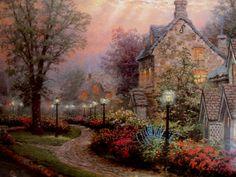 Thomas Kinkade | Poetic Shutterbug: Thomas Kinkade Painter of Light Hardcover Art Book