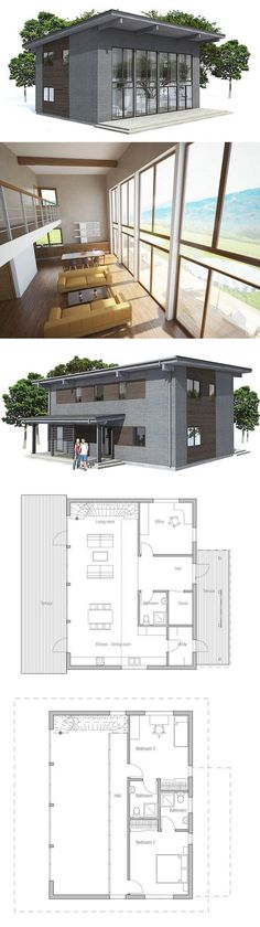 Small home plan. Three bedrooms, high ceiling, affordable building budget. Small home design with nice big #home decorating #living room design #home interior design 2012| http://home-design-collections.lemoncoin.org