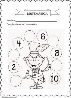 Cocina Española, actualidad España, Educación en España Preschool Worksheets, Preschool Math, Kindergarten Activities, Pre Kinder, Math 2, Homework, Vocabulary, Numbers, Math Activities