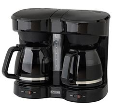 Kitchen Selectives Dual Carafe 12-Cup Drip Coffee Maker $48.88