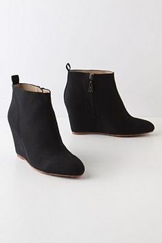 Swathed Canvas Booties | Anthropologie.eu