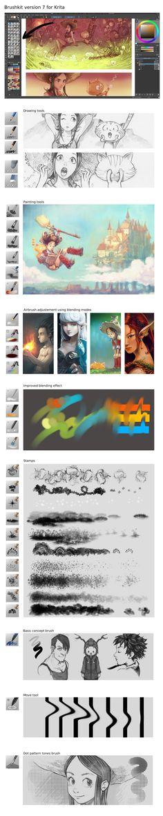 Deevad-krita-brushpresets-7 by Deevad.deviantart.com on @DeviantArt