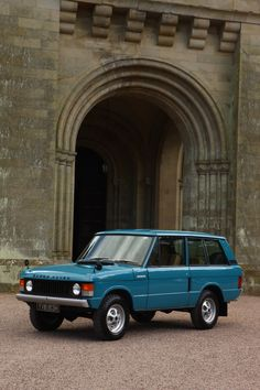 Range Rover Classic, two doors Twitter / Recent image by @LandRoverUAB