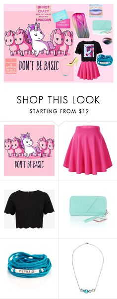 """""""Unicorn"""" by sofia-nagy ❤ liked on Polyvore featuring Ted Baker, Sharpie, Blooming Lotus Jewelry, Larkspur & Hawk, Mulberry, Minecraft, Pink, unicorn and unicornhair"""