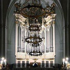 These chandeliers were fit for Napoleon Bonaparte and Franz Ferdinand's weddings! St. Augustine's Church in Vienna, Austria