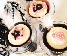 Gatsby cupcakes