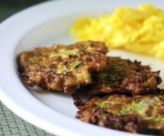 Zucchini Fritters Recipe | Paleo inspired, real food