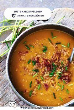Super Healthy Recipes, Healthy Soup, Vegetarian Recipes, Easy Potato Recipes, Soup Recipes, Jama, Lunch Restaurants, 20 Minutes, Mediterranean Recipes