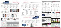 Interesting! Macbook Air & Macbook Pro brochures collections