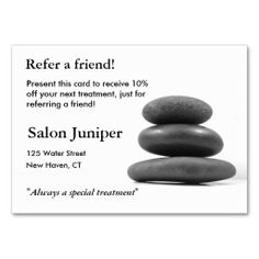 Spa and Massage Business Card Template | Massage business