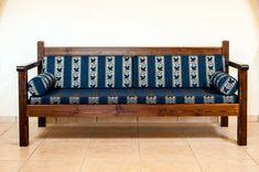 Wooden sofa - ΚΝ110 - Nikiforakis George
