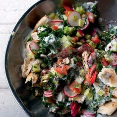Arab salad, chopped salad, Israeli salad—whatever you choose to call it, there… Salad Recipes, Veggie Recipes, Israeli Salad, Le Diner, Chopped Salad, Middle Eastern Recipes, So Little Time, Entrees, Recipes