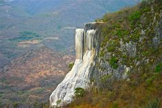 Petrified Waterfalls: Hierve el Agua, Oaxaca LosAngelesMexicans.com #Mexico Beautiful Landscape #Photography