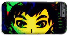 Character IPhone 6s Case featuring the digital art Jethro by Caroline Gilmore