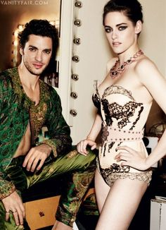 Photos: Kristen Stewart Models Parisian Couture in Vanity Fair | Hollywood | Vanity Fair