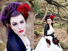 Alex Beadon Photography - Snow White Bride - A Fairytale Inspired Photoshoot...