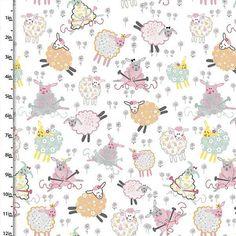 Cotton Twill Fabric DIY Craft Material Print Yellow Orange Pig Chinese Pig Yea B Fabric