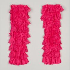 Tiered Lace Leg Warmers
