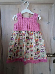 Dalekjole i rosa bomullsgarn og ugle stoff! Craft Business, Summer Dresses, Crafts, Fashion, Moda, Fasion, Crafting, Handmade Crafts, Diy Crafts