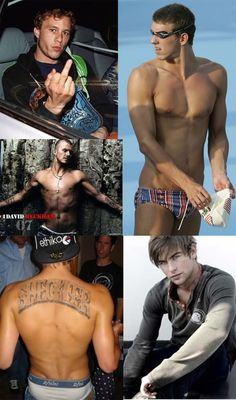 my collage of sexy men