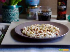 Risotto patate, salsiccia e Guinness  #ricette #food #recipes