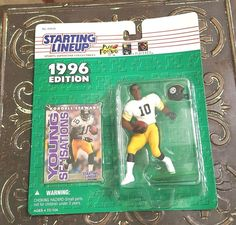 KORDELL STEWART Starting Lineup 1996 NEW Action Figure Card UNOPENED Steelers…