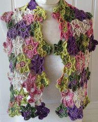 Maggie's Crochet · Flower Fall Scarf Free Crochet Pattern
