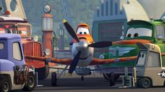 Soar over to the #DisneyPlanes Propwash Junction to learn all about your favorite characters! Find showtimes and get tickets today: http://di.sn/qAu