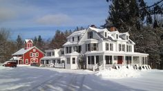 13 of the Coziest Country Inns for the Holidays...Inn at Manchester | Manchester, VT