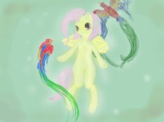 fluttershy and parrots