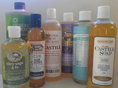Castile Soap: What It Is, How It's Used in Green Cleaning & More!: Different Brands of Eco-Friendly Liquid Castile Soaps