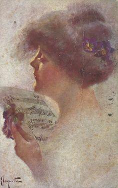 (1913) Illustrazione di C. Monestier