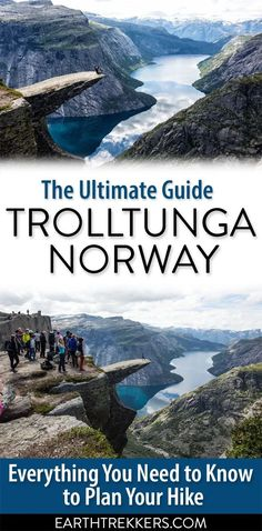 Trolltunga, the guide to one of the best hikes in Norway. #trolltunga #norway #adventure #hiking