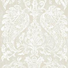 ~ Watts London - Bentinck Platinum Frost wallpaper
