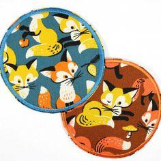 Füchse als runde Bügelflicken gibts neu bei uns im Applikations und Knieflicken Shop....  flickli.de