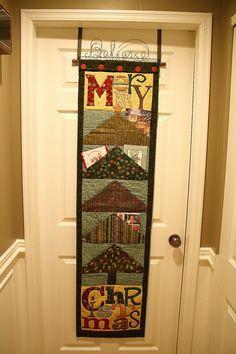 card holder - I Believe by Art to Heart Nancy Halvorsen Quilt Book