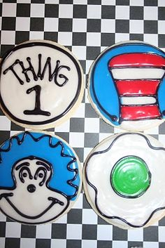 The Cookie Mama: Dr. Seuss Cookies