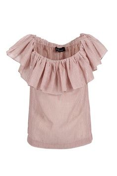 Striper Topp Milly Blouse fra Designers Remix