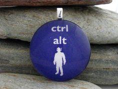 Ctrl...alt...DELETE! DELETE! DELETE! LOL #autism #aspergers #drwho #geek