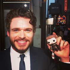 """Richard Madden and Robb Stark. 