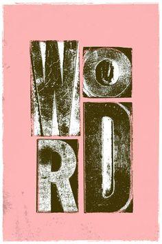Love it. word!