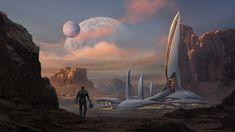 ArtStation - Space oasis, Shen Fei